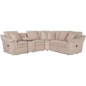 lazy boy devon sectional la z boy devon 5 piece power reclining sectional with ras