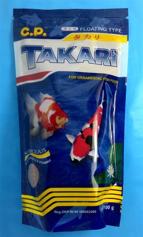 Harga Pakan Ikan Hias Takari jual takari 100 gr 1mm makanan pakan ikan hias