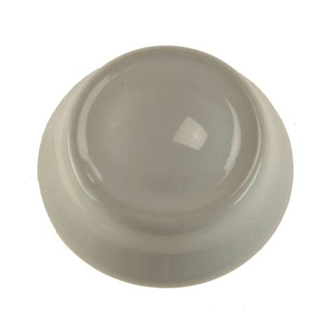 Dimmer Knob by Amerelle Dimmer Knob Ceramic White 947cm The Home Depot