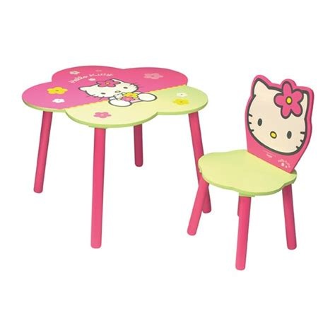 chaise hello table et chaise hello fleur mobilier hello
