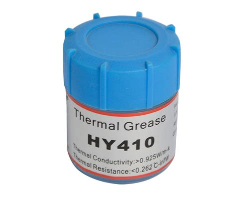 hy410 white thermal grease can with 10 g halnziye usa