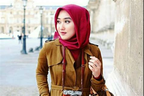 tren hijab bandung merdeka com dian pelangi warna netral dan