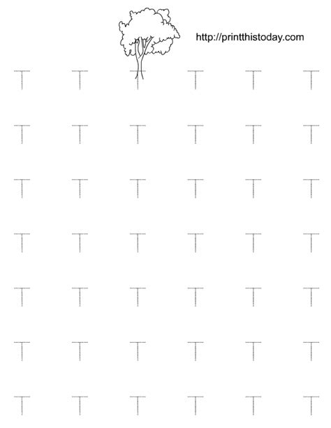 printable tracing letter t alphabet t tracing worksheets for preschool and kindergarten