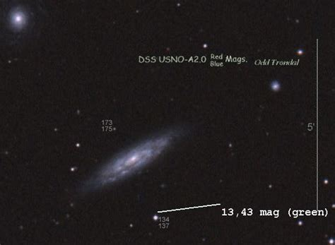 Mit Sternen 3972 by Ngc3972 Und Sn2011by
