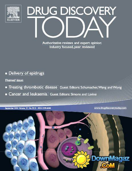 drug design discovery journal drug discovery today september 2014 187 download pdf
