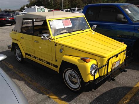 volkswagen thing 1974 volkswagen thing type 181 start up quick tour