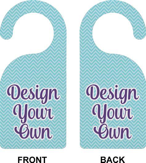 design   door hanger personalized youcustomizeit