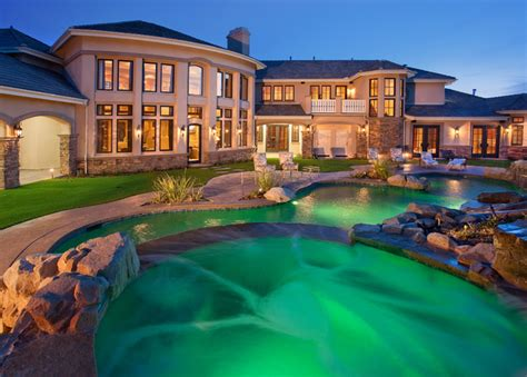 custom dream houses custom dream homes with luxury pool and garden ideas 4 homes
