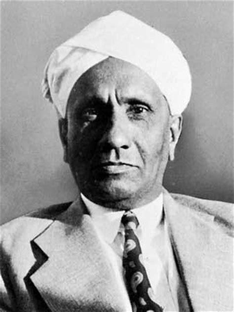 sir chandrasekhara venkata raman biography indian