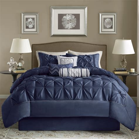 madison park laurel 7 piece comforter set ebay