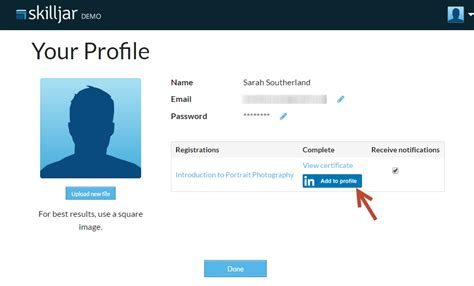 Mba Next To Your Name In Linkedin by Enabling Linkedin Add To Profile For Certificates