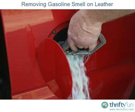 Gas Smell In Garage by Removing Gasoline Smell On Leather Thriftyfun