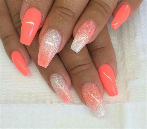 coral pattern nails 25 best ideas about coral nail designs on pinterest