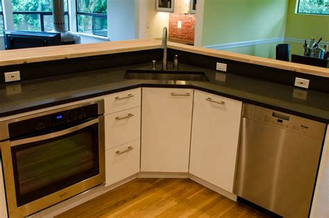 ikea corner kitchen cabinet help needed with corner kitchen sink hack from lazy susan