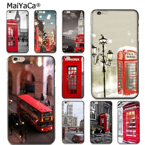 maiyaca style london bus england telephone vintage british