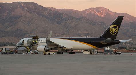 ups begins regular cargo flights out of san bernardino airport transport topics
