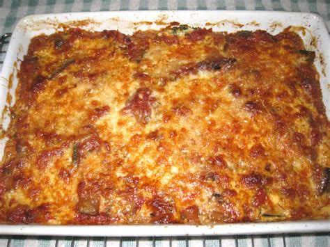 cooking without a net eggplant casserole