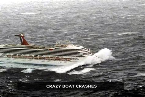 boat crash caught on tape crazy boat crashes announcements