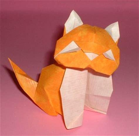 Origami Kitten - origami kitten