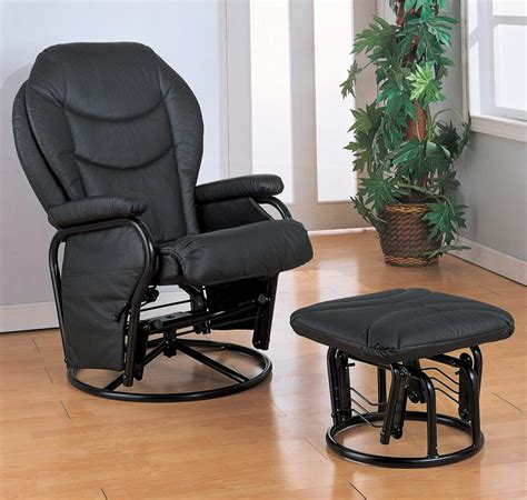 Recliners And Ottomans by Coaster Recliners With Ottomans Glider Rocker With
