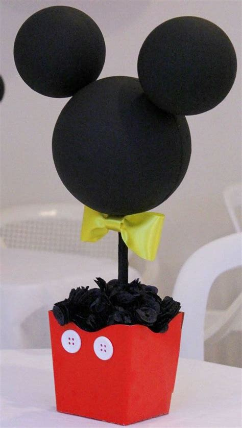 mickey mouse decorations diy mickey mouse minnie mouse centerpieces by
