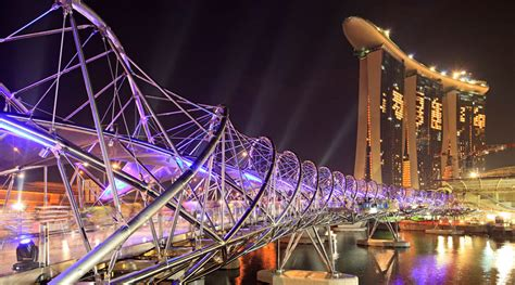 helix bridge the helix arup a global firm of consulting engineers designers planners and project managers