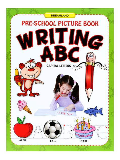 picture books about writing buy pre school picture book writing abc in india