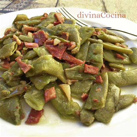 imagenes judias verdes receta de jud 237 as verdes al ajillo divina cocina