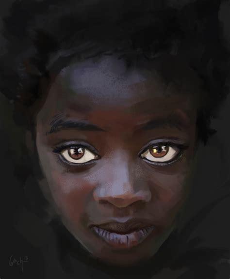 black girl black girl study by bbach on deviantart