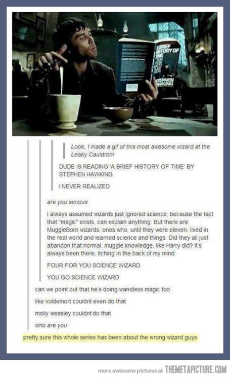 All Comments On Harry Potter - awesome leaky cauldron science wizard the meta picture