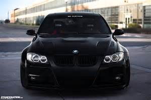 bmw e90 front end black bmw