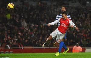 alexis sanchez qpr goal arsenal 2 1 qpr alexis sanchez and tomas rosicky goals
