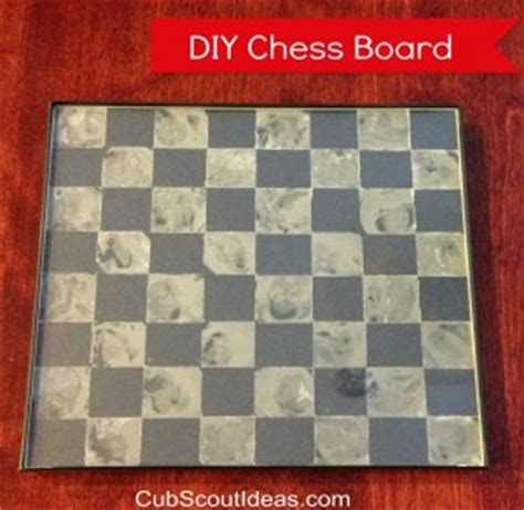diy chess board 6 cub scout project idea diy chess board cub scout ideas