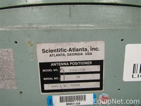 scientific atlanta 5320 5750 antenna positioner listing 638818