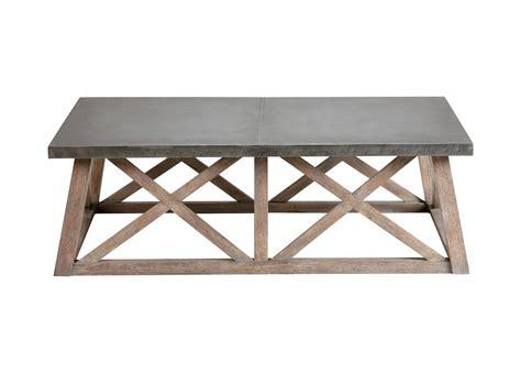 top coffee table bruckner metal top coffee table coffee tables ethan allen
