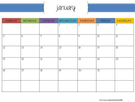 printable planner 2014 pdf 7 best images of printable organizer calendar printable