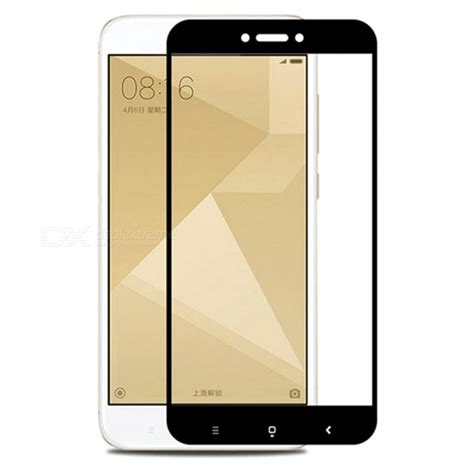 Tempered Glass Hp Xiaomi Redmi 4x naxtop tempered glass screen protector for xiaomi redmi 4x black free shipping dealextreme