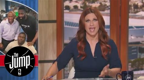 youtube rachel nichols the jump rachel nichols thrilled to see athletes donating to