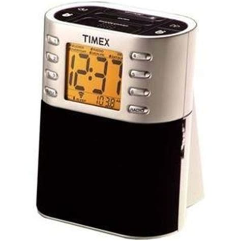 timex auto set am fm clock radio with nature sounds t308s electronics