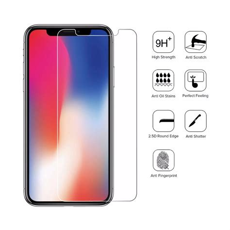 Sunsway Iphone X Tempered Glass 0 26mm 2 5d 0 26mm 2 5d anti scratch tempered glass screen