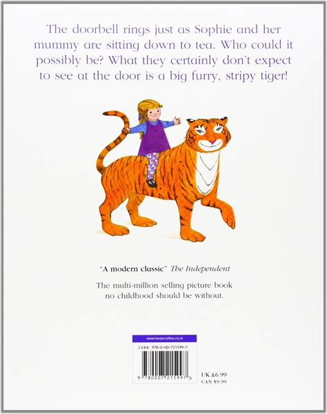 the tiger who came 0007215991 the tiger who came to tea perfect paperback papertree