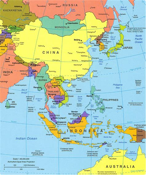 asia s southeast asia political map