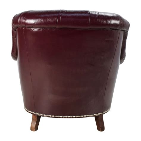 Baker Tufted Dining Chairs 90 Baker Furniture Baker Tufted Leather Lounge Chair Chairs