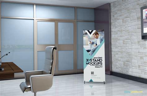best design x banner 14 premium x banner mockups and roll up banner mockups