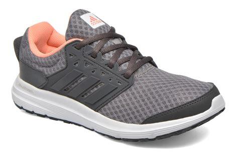 the newest womens adidas galaxy 3 sports shoes grey
