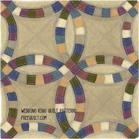 Single Wedding Ring Quilt Pattern Free by Wedding Ring Quilt Patterns Single Wedding Ring