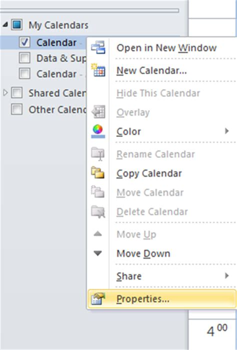 Outlook You Don T Permission Calendar Adminstrative Assisttips Giving Your Assistant Permission
