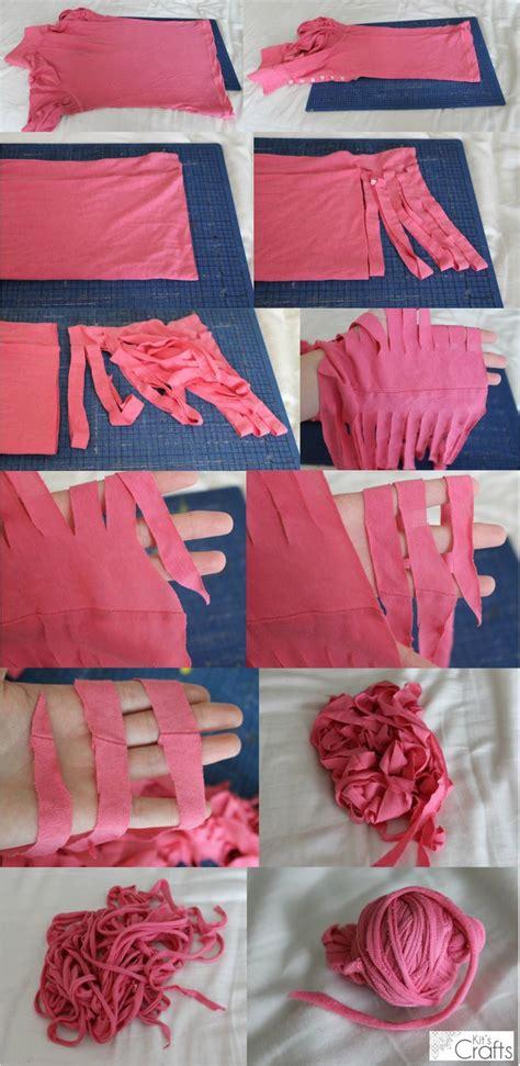 t shirt yarn rug tutorial kit s crafts t shirt yarn tutorial k2tog