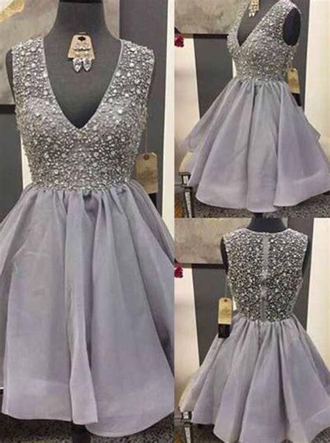 Grey Sweety Dress grey homecoming dress homecoming dresses lace homecoming gowns sweet 16 dress homecoming