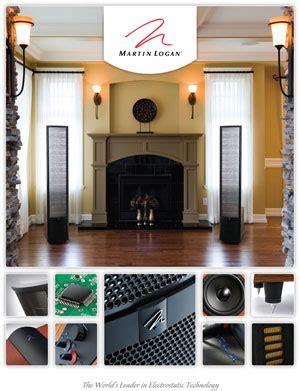 Martin Logan Loudspeakers Product Catalogue Hifi Engine